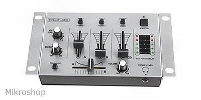 Alapszintű 3 csatornás kompakt DJ pult  2 sztereó bemeneti csatorna •  csatornánként kapcsolható lemezjátszó - vonalbemenet • DJ mikrofon csatorna  • talkover ... 55d24b3846