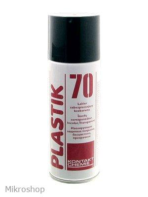 Védőlakk (akril) spray 200 ml CRC PLASTIK-70