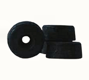Hangfal-láb  gumi Ø 40mm 202554 / 45909