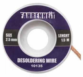 Ónszívó fonat Fahrenheit 2,5 mm 10-135