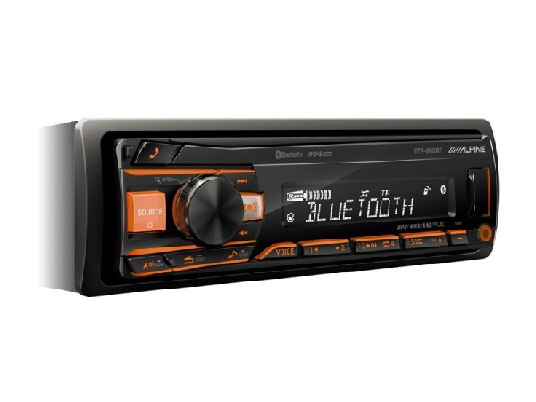 Alpine UTE-200BT iPod-Bluetooth-USB 1 DIN autórádió