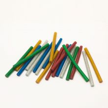 Ragasztórúd - 7 mm - színes, glitteres 20Db 11-108C