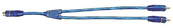 RCA Y kábel (2 dugó - 1 alj) 20-147