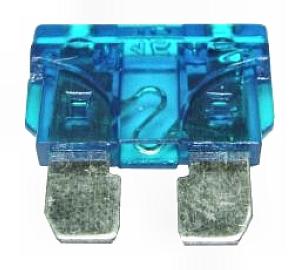 Biztosíték normál késes 15A kék
