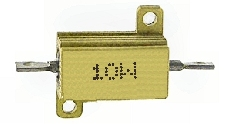 0R1 ellenállás 10W fémházas hűtőfelülettel