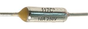 Hőbiztosíték 10A 117C°