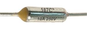 Hőbiztosíték 10A 167C°
