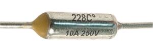 Hőbiztosíték 10A 228C°