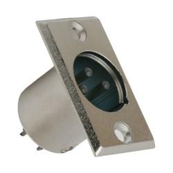 XLR 3 pol. dugó beépíthető
