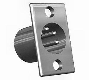 XLR 5 pol. dugó beépíthető