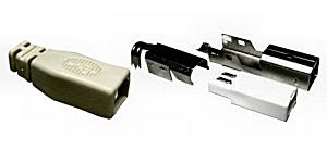 USB B szerelhető dugó 05-051