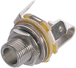 Jack 6,3 stereo alj beépíthető Neutrik NYS-230