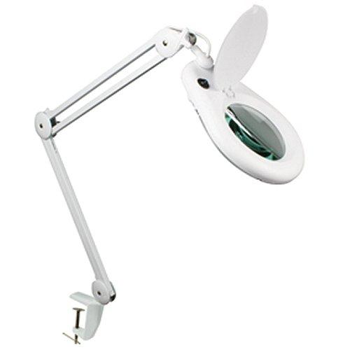 Nagyító (3 x) + lámpa asztali LAMP21