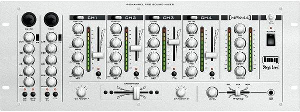 StageLine PA audio & DJ keverő MPX- 44SW