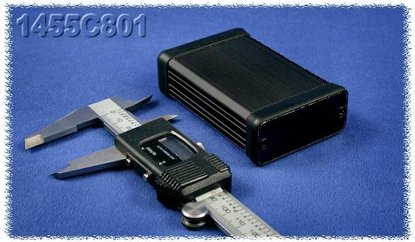 Hammond műszerdoboz 1455C 801BK
