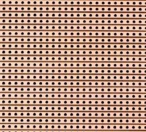 Próbapanel forrasztós 160x100 mm forrcsíkos 330-686