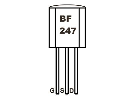 BF247A FET