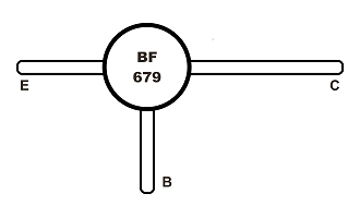 BF679 Tranzisztor
