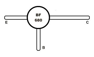 BF680 Tranzisztor