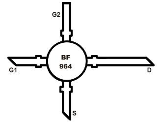 BF964 DUAL-FET