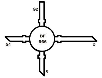 BF966 DUAL-FET