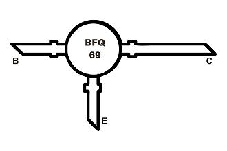 BFQ69 Tranzisztor