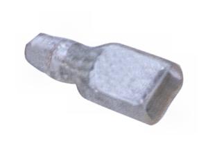 Csúszósaru 4,8 mm szigetelő