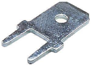 Csúszósaru 6,3 mm dugó nyákba