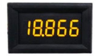 DC voltmérő 0-33V