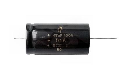 47uF / 100 V bipoláris elkó