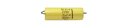 2,2uF / 100V C-219 kondenzátor