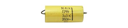 3,3uF /100 V C-219 kondenzátor