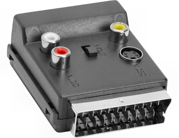 Scart / RCA + S-VHS adapter VLVP-31903B