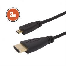 Micro HDMI kábel • 3 m 20-425