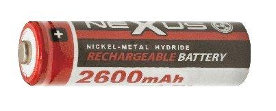 Nexus akku AA 2.600 mAH 1.2V Ni-MH 18-506