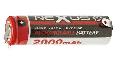 Nexus akku SAA 2.000 mAh 1.2V Ni-MH 18-514