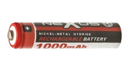 Nexus akku AAA 1.000 mAh 1,2V Ni-MH 18-509