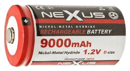 Nexus akku D 9.000 mAh 1.2V Ni-MH 18-518