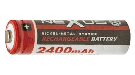 Nexus akku AA 2.400 mAh 1.2V Ni-Mh 18-504
