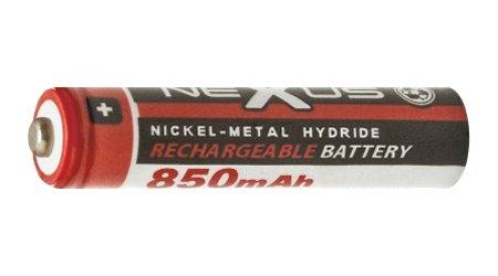 Nexus akku AAA  850 mAH 1.2V Ni-Mh AAA 18508
