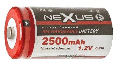 Nexus akku C 2.500 mAh 1.2V Ni-Cd 18-513