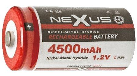 Nexus akku C 4.500 mAh 1.2V Ni-Mh C 18512