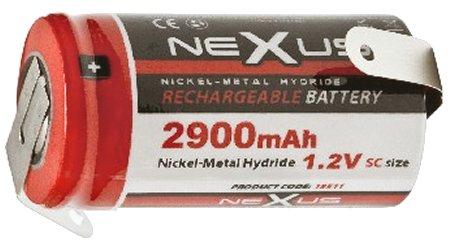 Nexus akku SC 2.900 mAh 1.2V Ni-Mh 18511