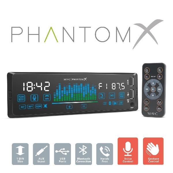M.N.C MP3-as autórádió USB/MSD/MMC/AUX bemenettel 39-713