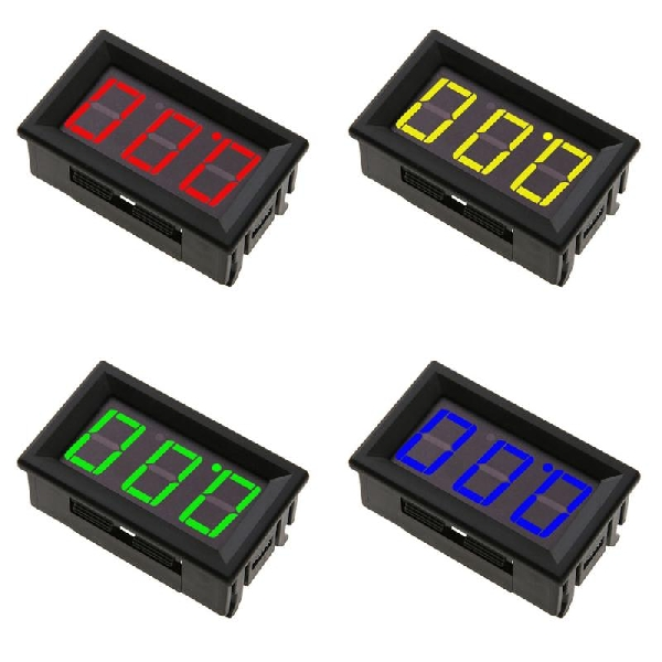 DC voltmérő 0-100V