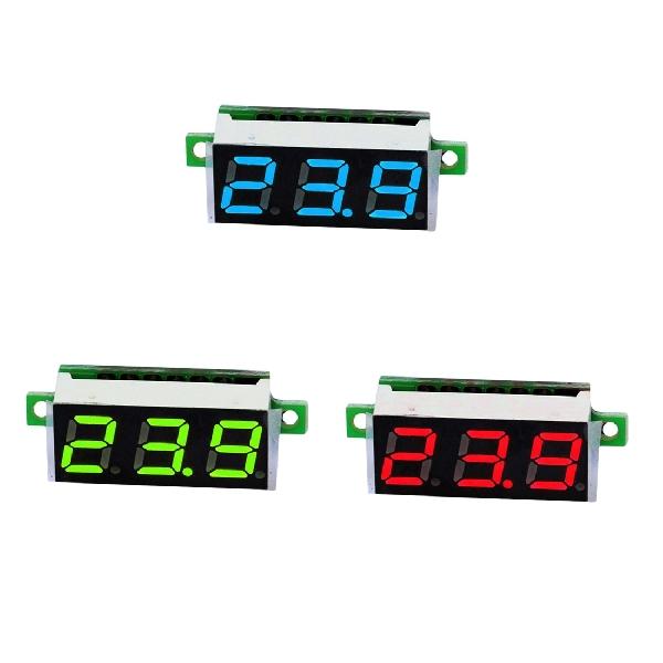 Mini DC voltmérő 3,5-30V