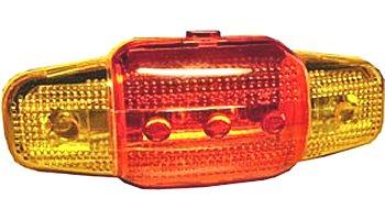 Bicikli hátső lámpa LED-es 07-821