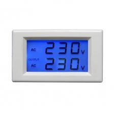 Duál AC feszültségmérő panelműszer 80-500V PM86B