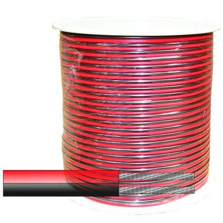 Hangszóróvezeték transparens 100m 0,5 mm 06-510CU