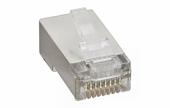 RJ moduláris csatlakozó 8P8C (RJ45) CAT5 (10 db.) 05-267